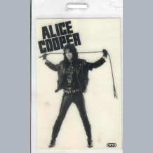Alice Cooper Stage Pass