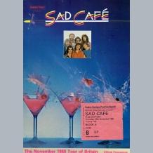 Sad Cafe Programme
