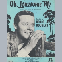 Craig Douglas Sheet Music