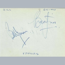 Brian Jones & Bill Wyman