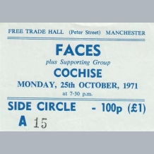 Faces Ticket