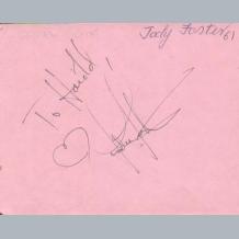 Jodie Foster & Davy Jones