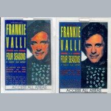 Frankie Valli Stage Pass