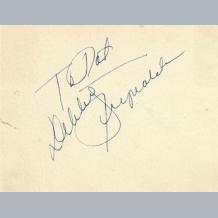 Debbie Reynolds & Maxwell Reed
