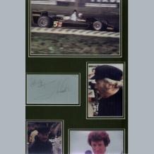 Colin Chapman & Mario Andretti