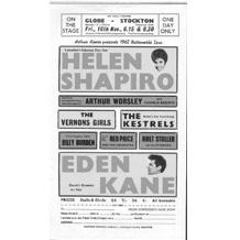 Pop Concert Programmes