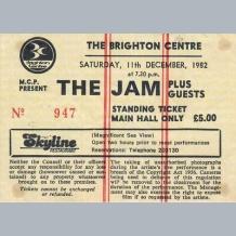 Jam Ticket