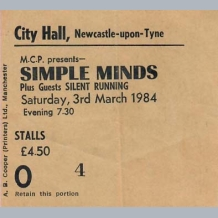 Simple Minds Ticket