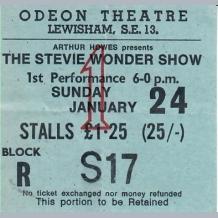 Stevie Wonder Ticket