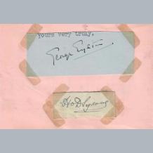 Sir Henry Segrave & George Eyston