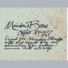Muirhead Bone