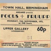 Focus Ticket