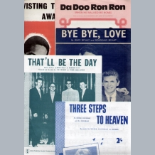 Sheet Music 1950-1960s A To M
