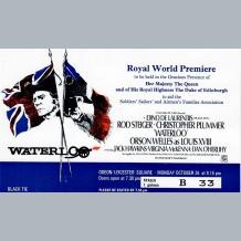 Waterloo Film Premiere Ticket