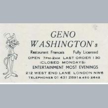 Geno Washington
