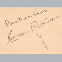 Carson Robinson