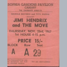 Concert Tickets 1970s N To Z