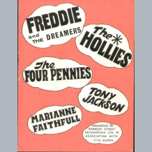 Freddie & The Dreamers Programme