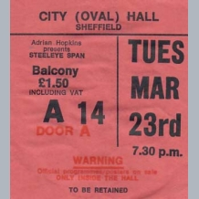 Steeleye Span Ticket