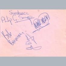 Sundance & Steve Rye