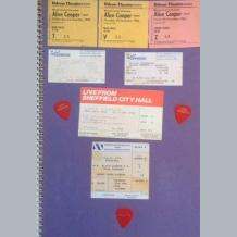 Alice Cooper Scrapbook