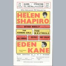 Helen Shapiro Handbill