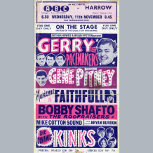 Gerry & The Pacemakers Flyer
