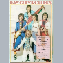 Bay City Rollers (1975) Tour Programme