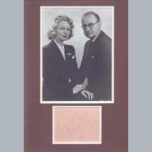 Anna Neagle & Herbert Wilcox