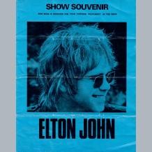 Elton John Programme