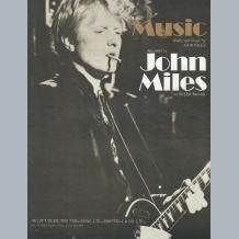 John Miles Sheet Music