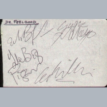 Dr Feelgood & Steve Hackett Band