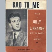 Billy J Kramer Sheet Music