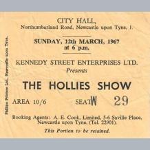 Hollies Ticket