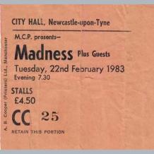 Madness Ticket