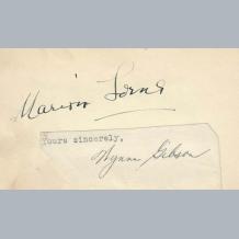 Marion Lorne & Oliver Lodge