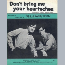 Paul & Barry Ryan Sheet Music