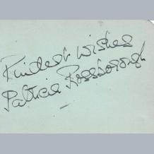 Patricia Rossborough