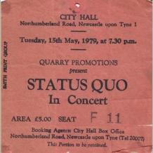 Status Quo Ticket
