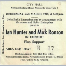 Ian Hunter & Mick Ronson
