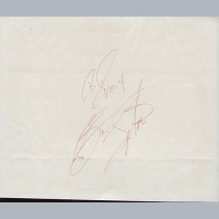 Golf Autograph Book Pages
