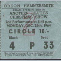 Concert Tickets 1980s A to M