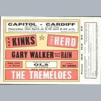 Kinks & The Herd Handbill