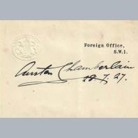Austen Chamberlain