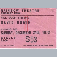 Concert Tickets 1980s N to Z