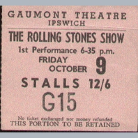 Concert Tickets 1970s A to M