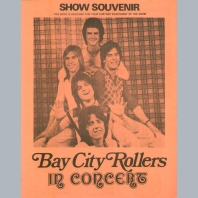 Bay City Rollers (1974) Souvenir Programme