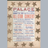 Palace Theatre Manchester 1943 Poster