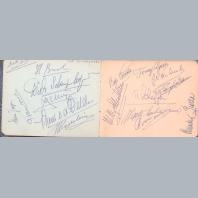 Jazz Autograph Books