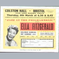 Ella Fitzgerald Handbill